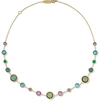 Ippolita Lollipop Short Semiprecious Stone Station Necklace