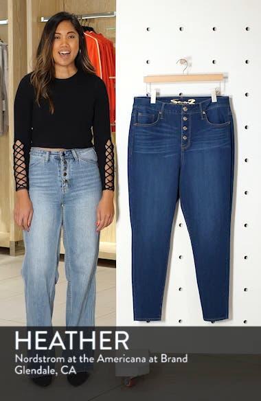 Ultra High-Waist Skinny Jeans, sales video thumbnail