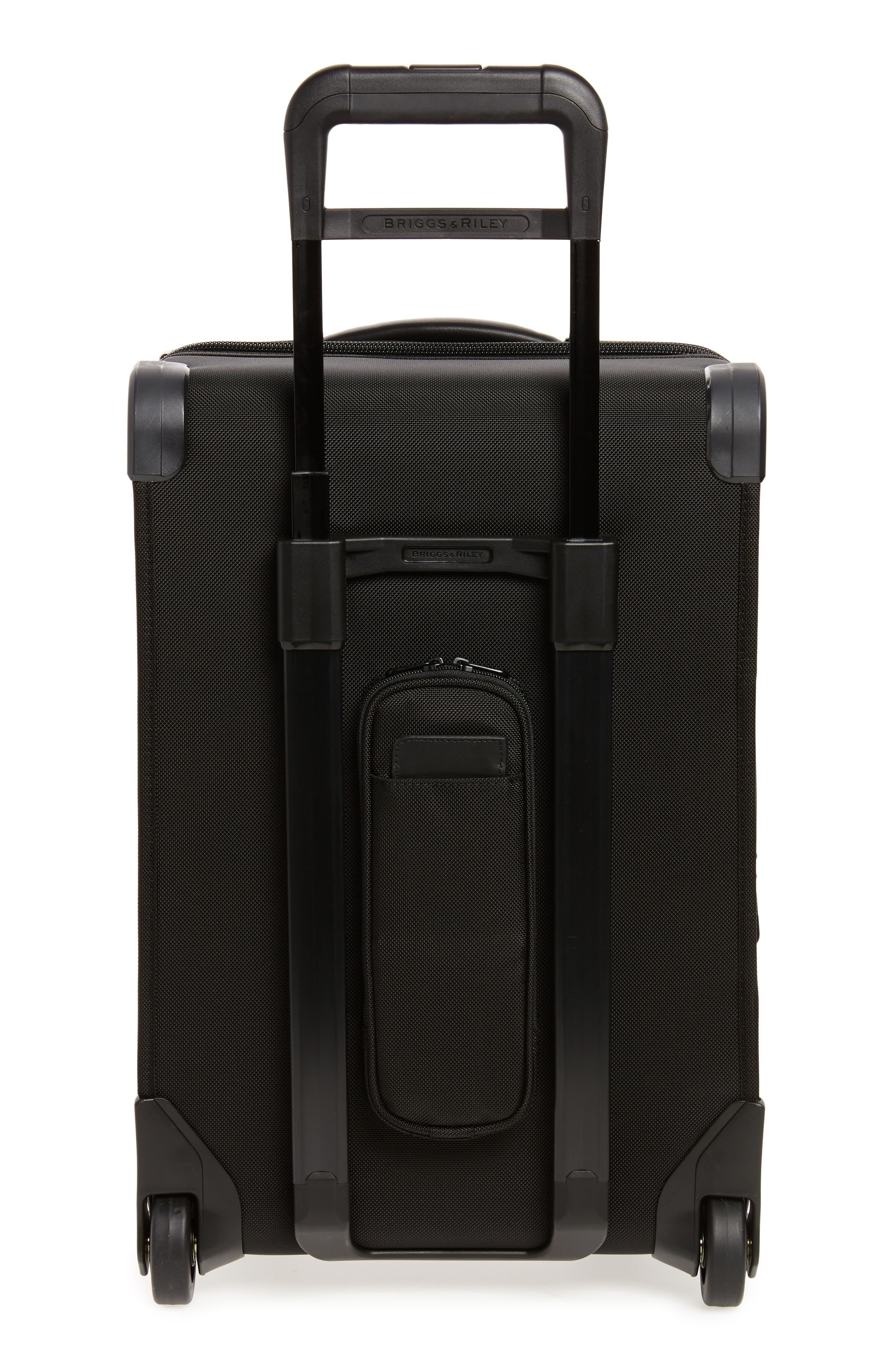 ,                             'Baseline - Domestic' Rolling Carry-On Garment Bag,                             Alternate thumbnail 4, color,                             BLACK