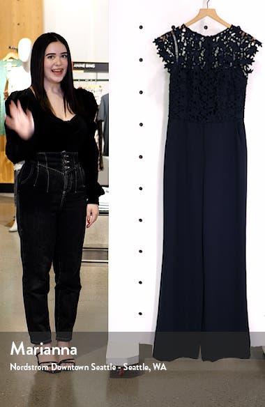 Lace Bodice Jumpsuit, sales video thumbnail