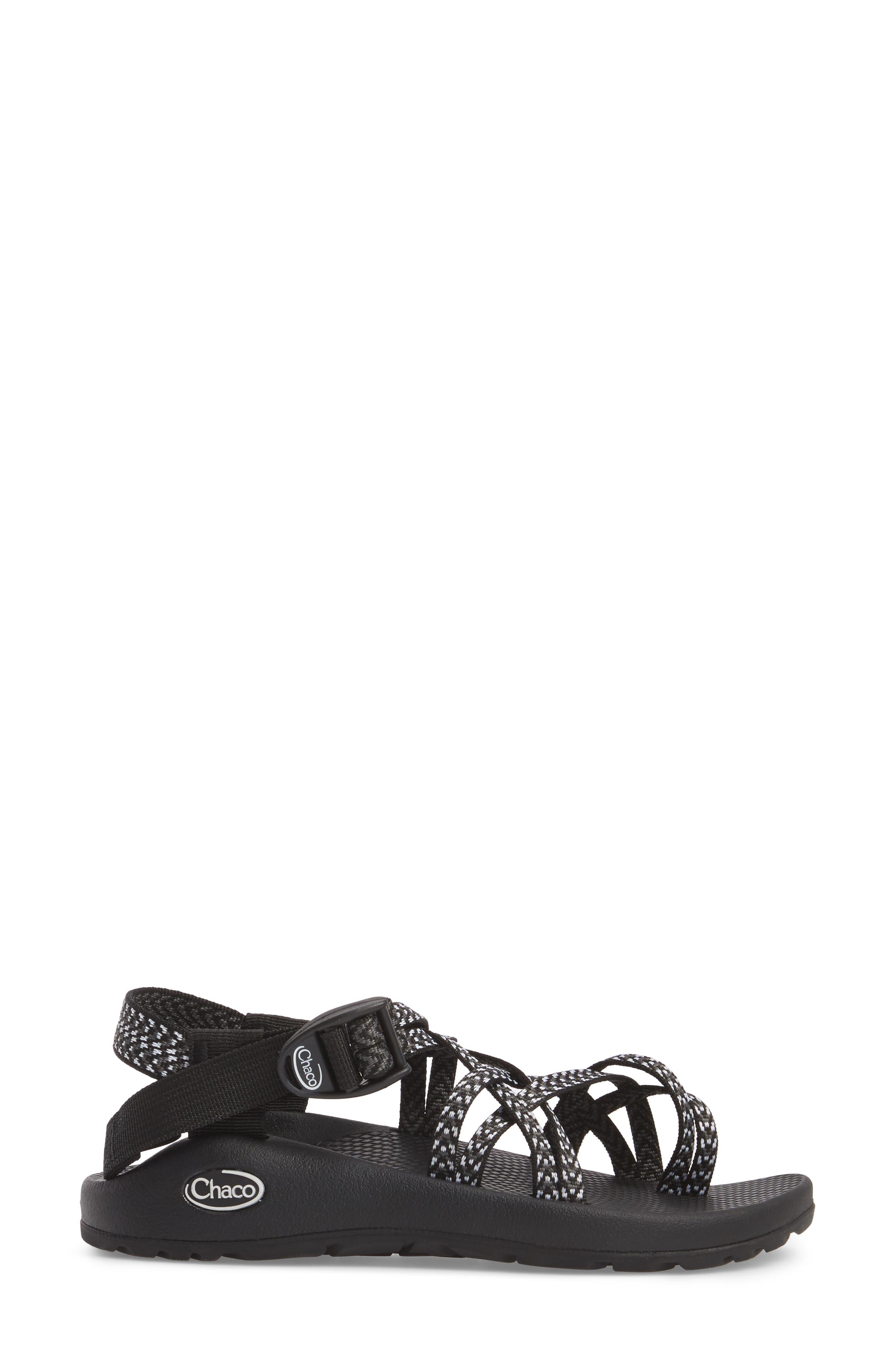 ,                             ZX/2<sup>®</sup> Classic Sandal,                             Alternate thumbnail 3, color,                             BOOST BLACK