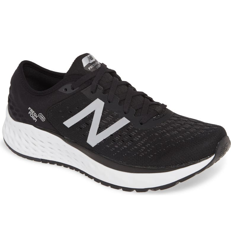 NEW BALANCE '1080' Running Shoe, Main, color, BLACK