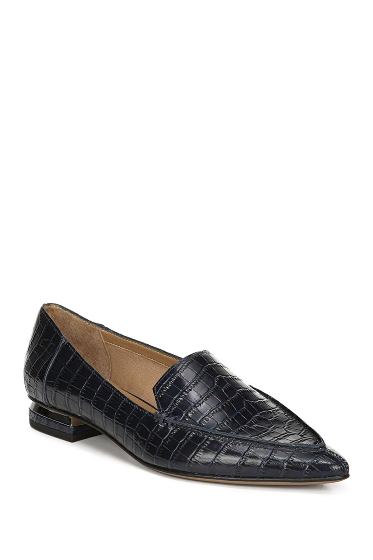 Image of Franco Sarto Starland Croc-Embossed Loafer