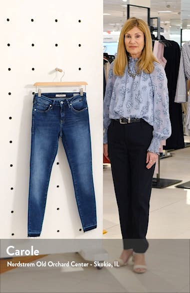 Adriana Raw Release Hem Skinny Jeans, sales video thumbnail