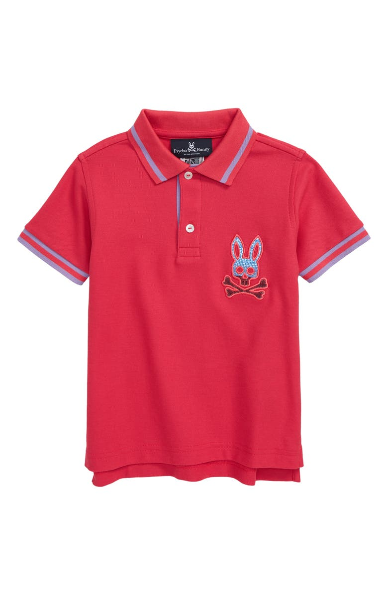 PSYCHO BUNNY Tynemouth Polo, Main, color, PUNCH