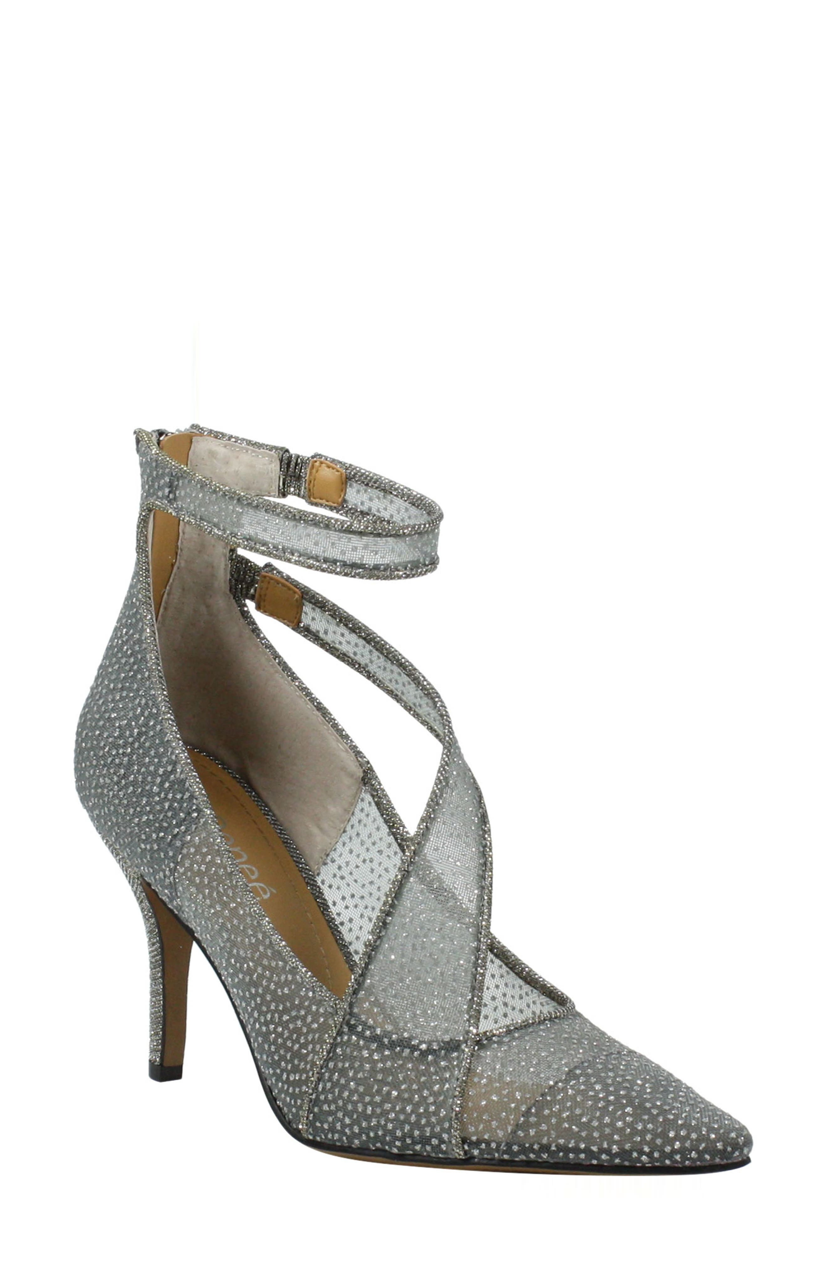Charmion Ankle Strap Pointed Toe Pump