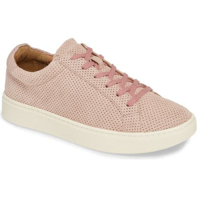 Sofft Somers Perforated Sneaker- Pink