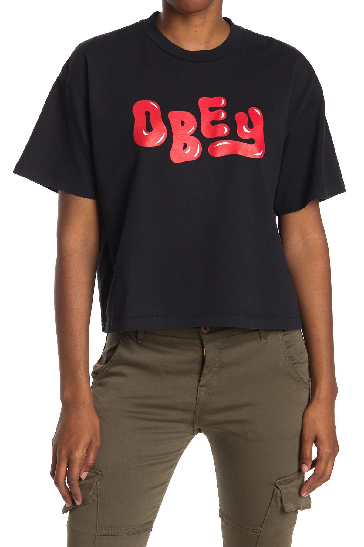 Image of Obey Femme Short Sleeve T-Shirt