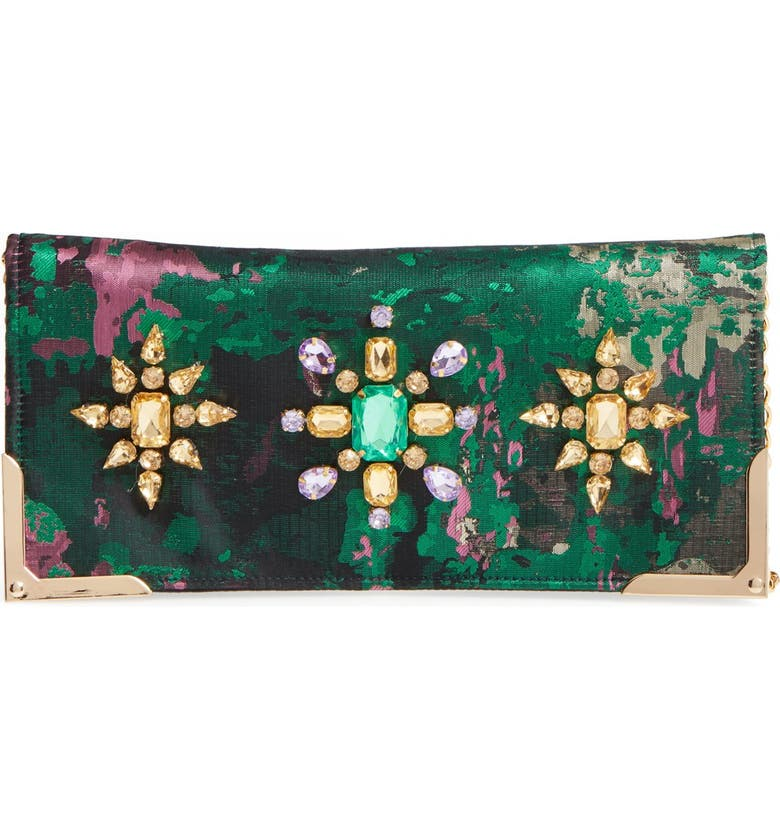 SHIRALEAH Luisa Embellished Clutch, Main, color, 300