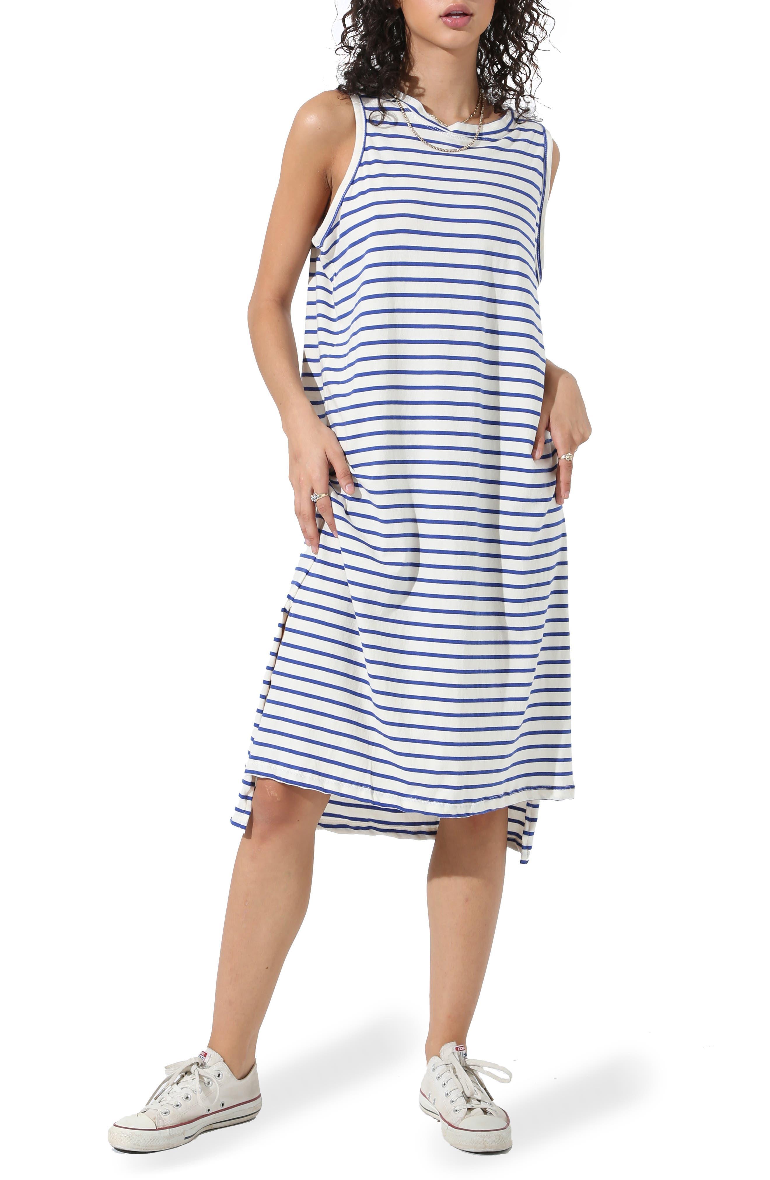 Posey Stripe Sleeveless Dress