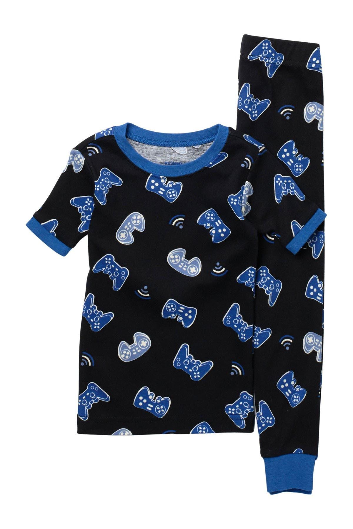 Image of Petit Lem Game Controller T-Shirt & Joggers Pajama Set