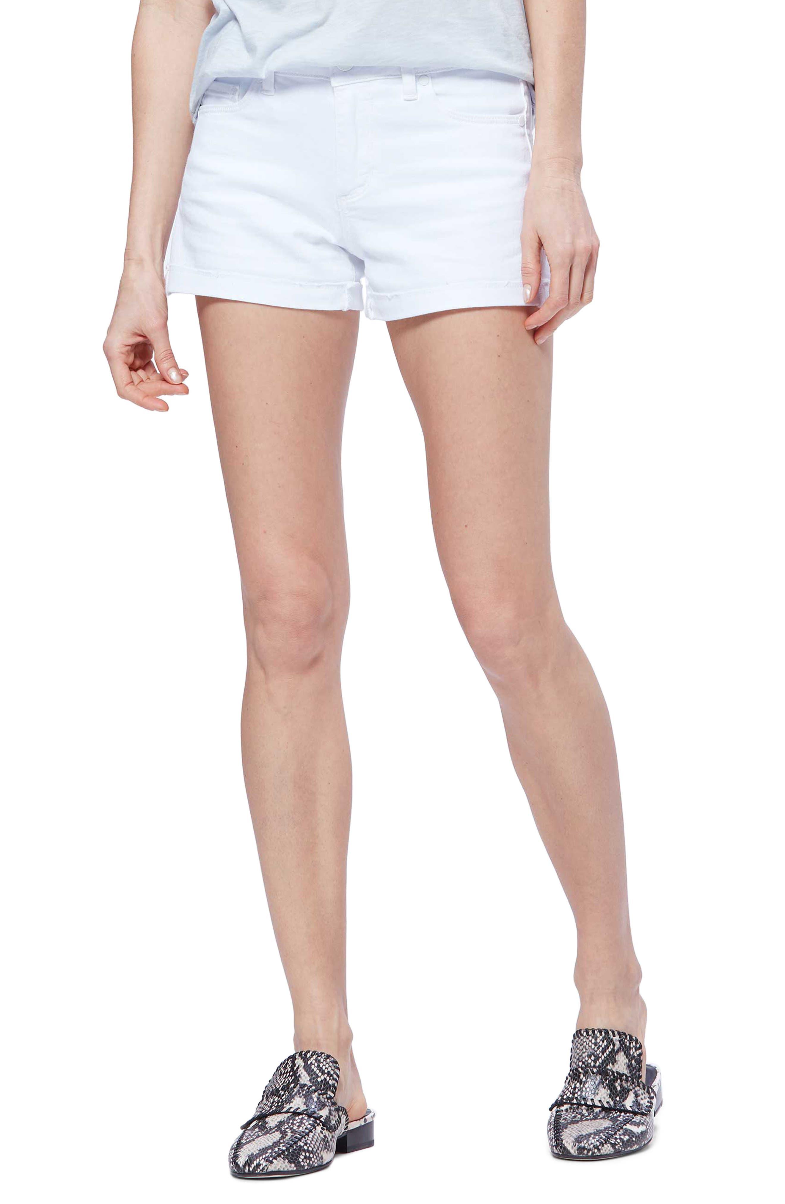 Women's Paige Jimmy Jimmy High Waist Denim Shorts