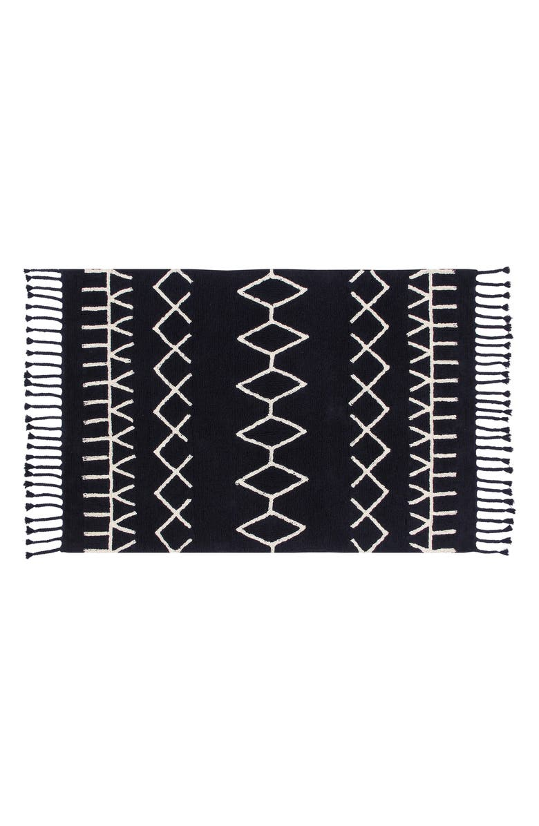 LORENA CANALS Bereber Rug, Main, color, BEREBER BLACK
