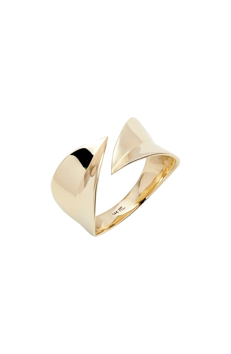 BONY LEVY 14K Gold Open Wrap Ring, Main, color, GOLD
