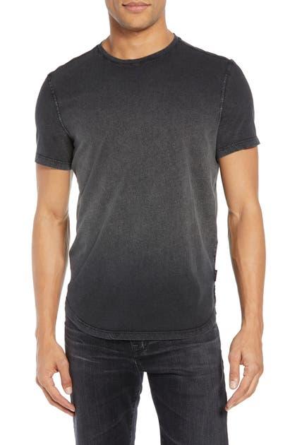 John Varvatos T-shirts SLIM FIT OMBRE T-SHIRT