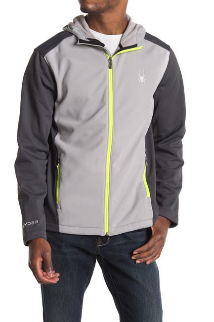Image of SPYDER Hooded Soft Shell Jacket