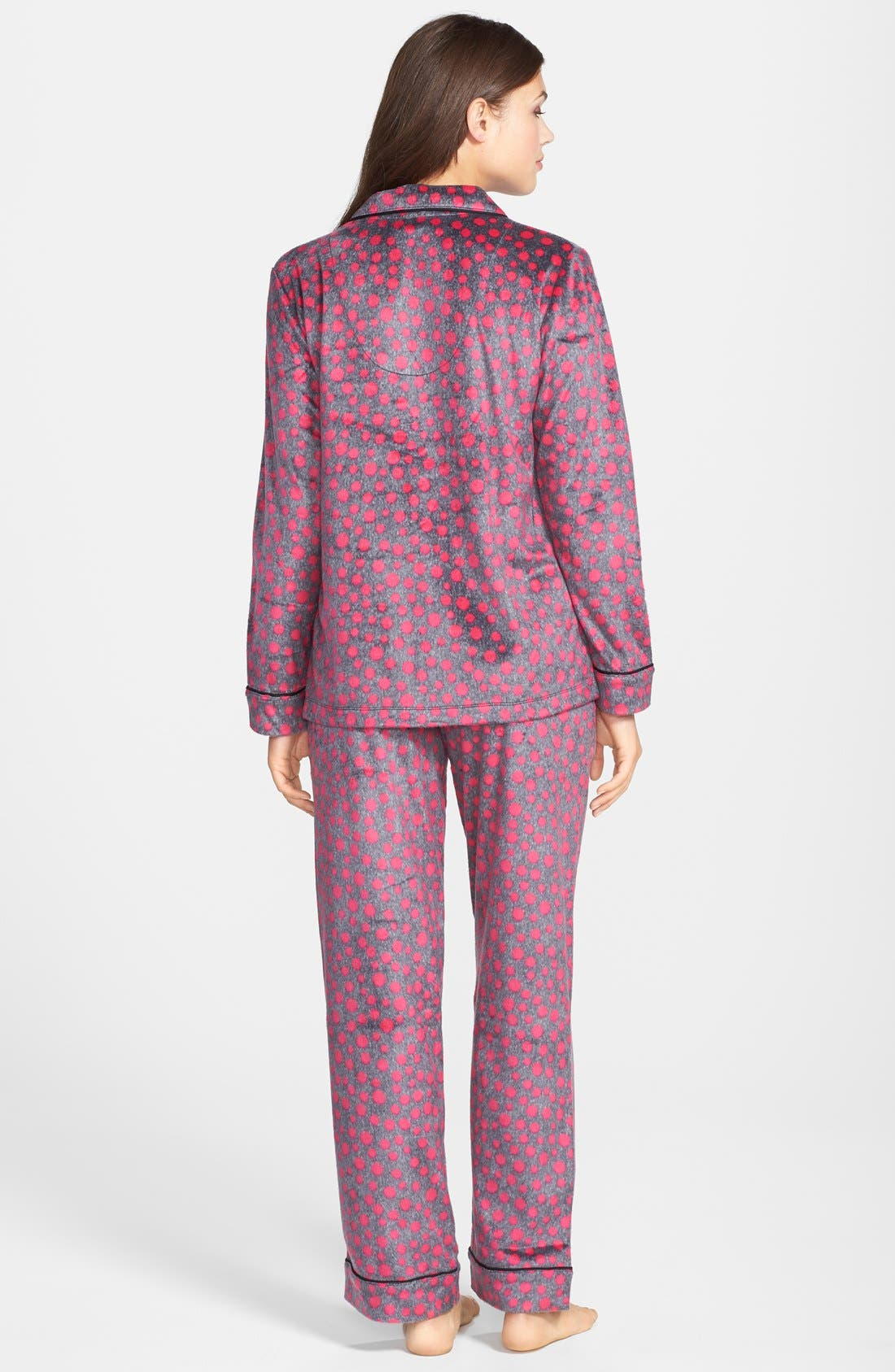 ,                             Long Sleeve Microfleece Pajamas,                             Alternate thumbnail 42, color,                             651