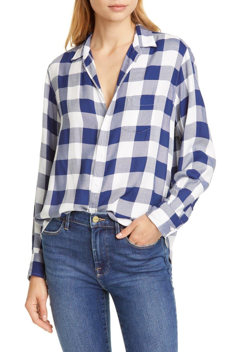 FRANK & EILEEN The Eileen Buffalo Plaid Modal Shirt, Main, color, 401