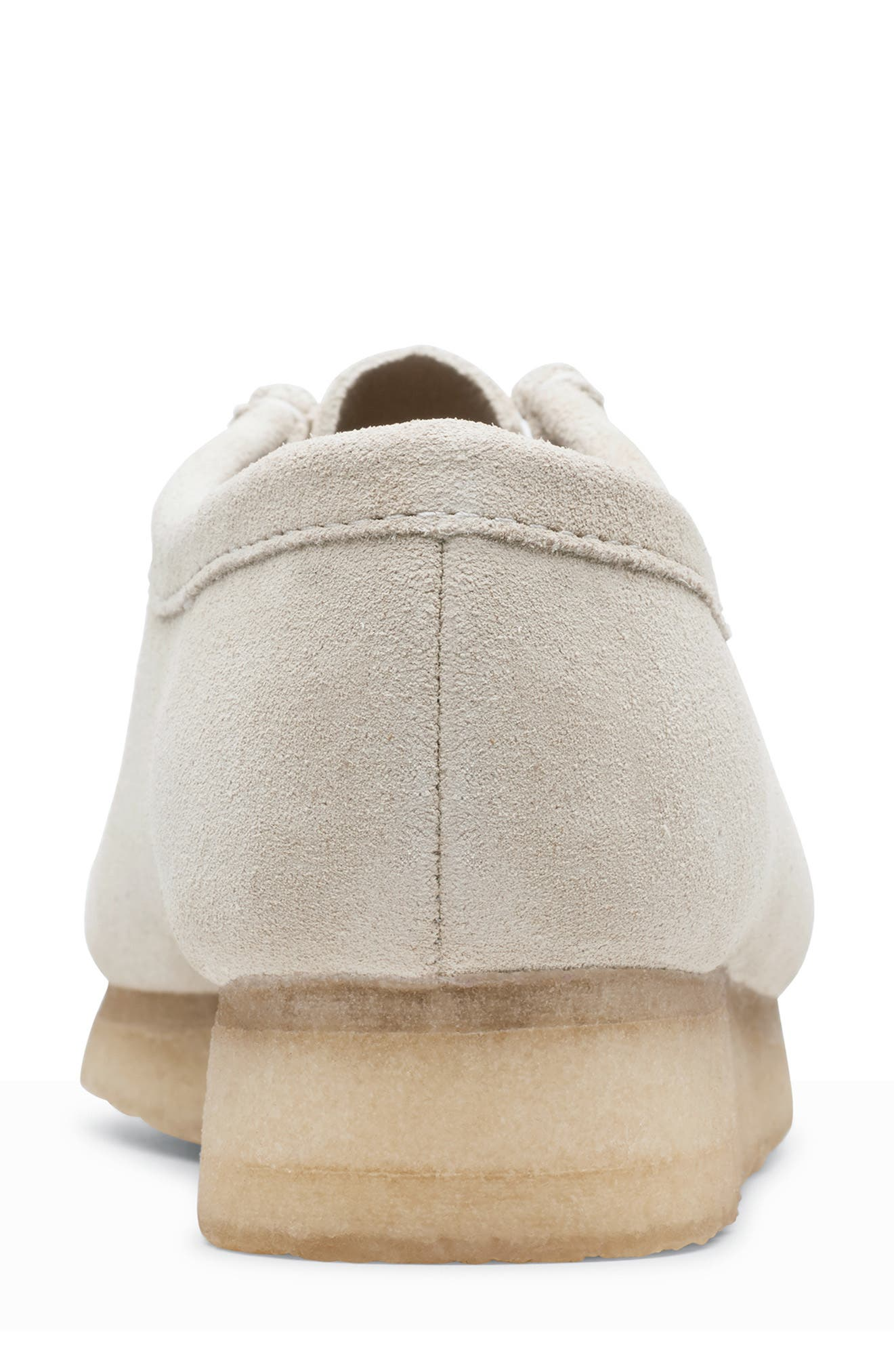 ,                             Wallabee Chukka Boot,                             Alternate thumbnail 4, color,                             OFF WHITE SUEDE