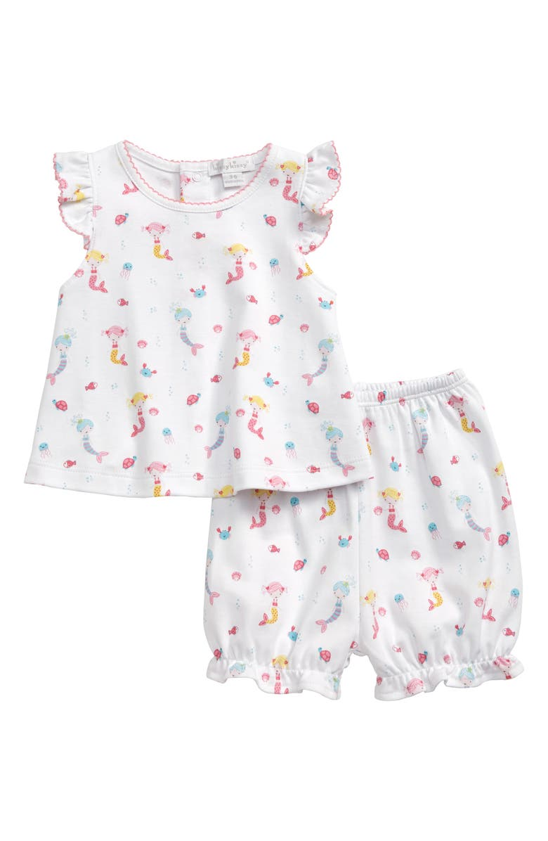 KISSY KISSY Mermaid Fun Top & Shorts Set, Main, color, PINK