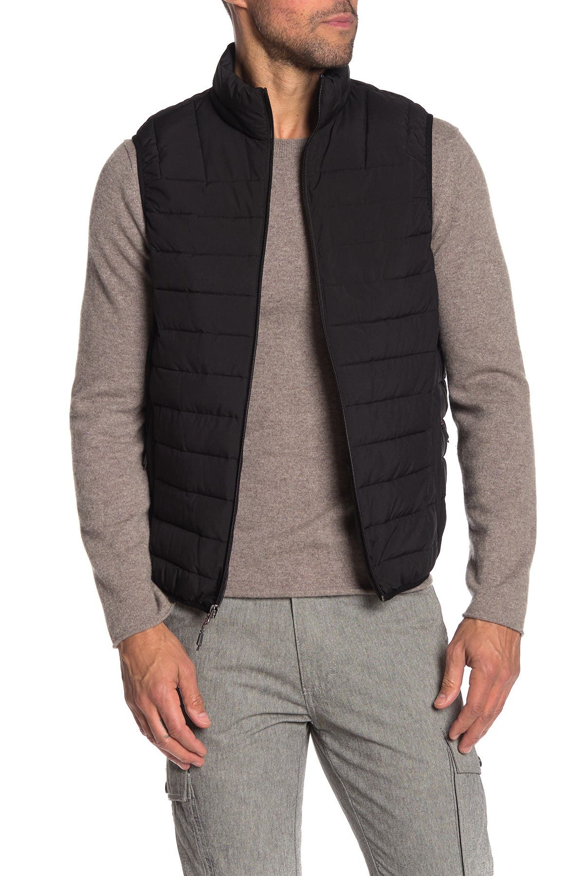 Image of Hawke & Co. Solid Stretch Puffer Vest