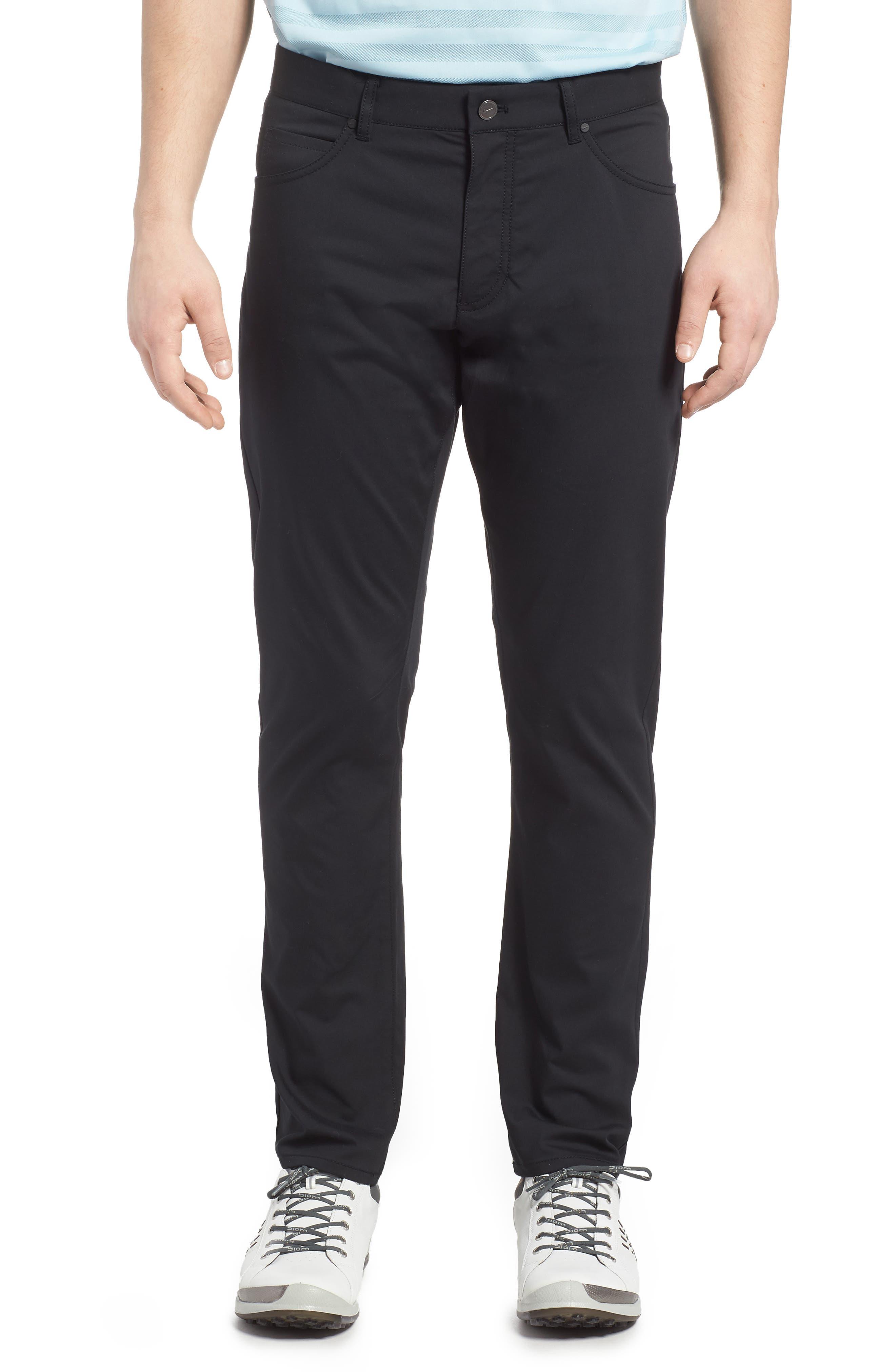 ,                             Flex Slim Fit Dri-FIT Golf Pants,                             Main thumbnail 1, color,                             010