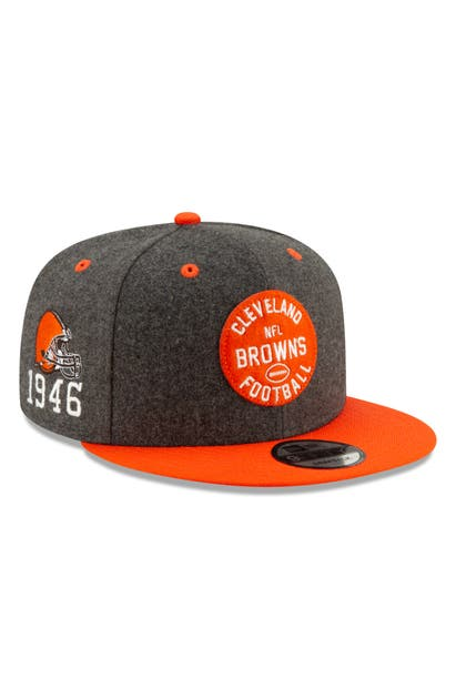 New Era Nfl Snapback Baseball Hat In Cleveland Browns