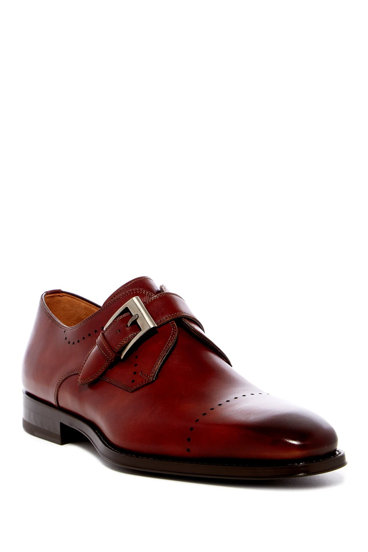 Image of Magnanni Carey Monk Strap Loafer
