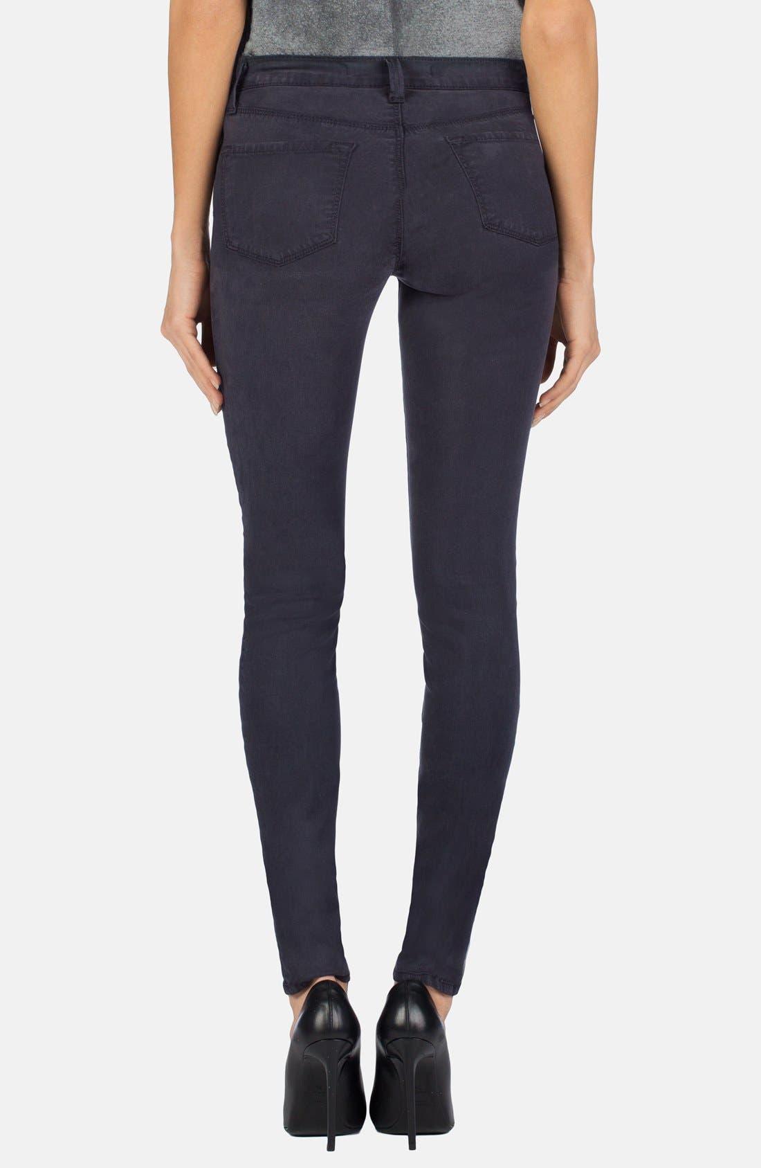 ,                             '485' Mid Rise Super Skinny Jeans,                             Alternate thumbnail 8, color,                             020