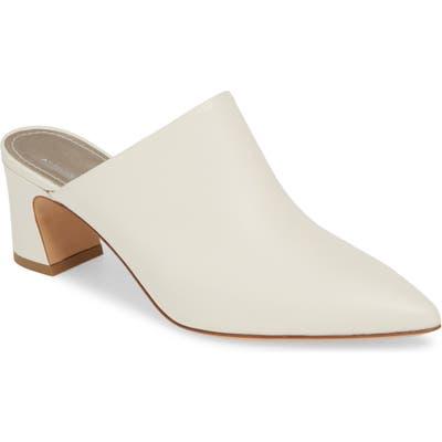 Agl Pointy Toe Mule, Ivory