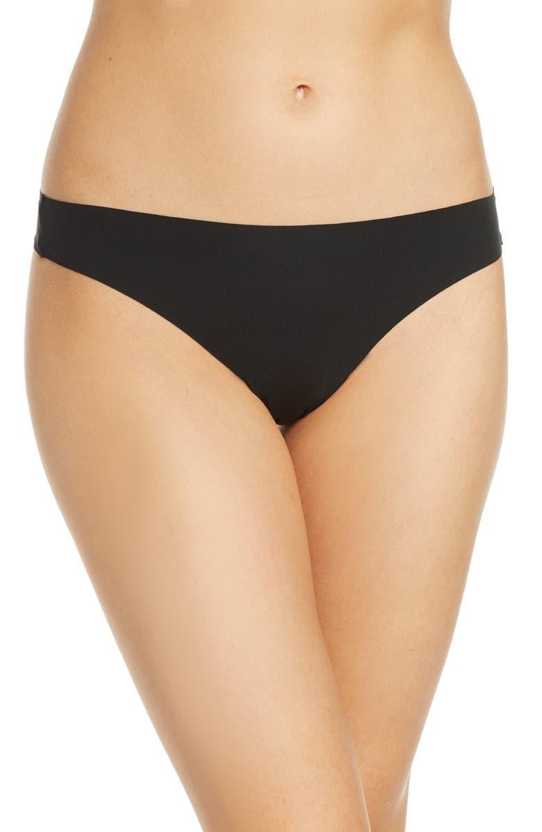 WACOAL Flawless Comfort Thong, Main, color, BLACK