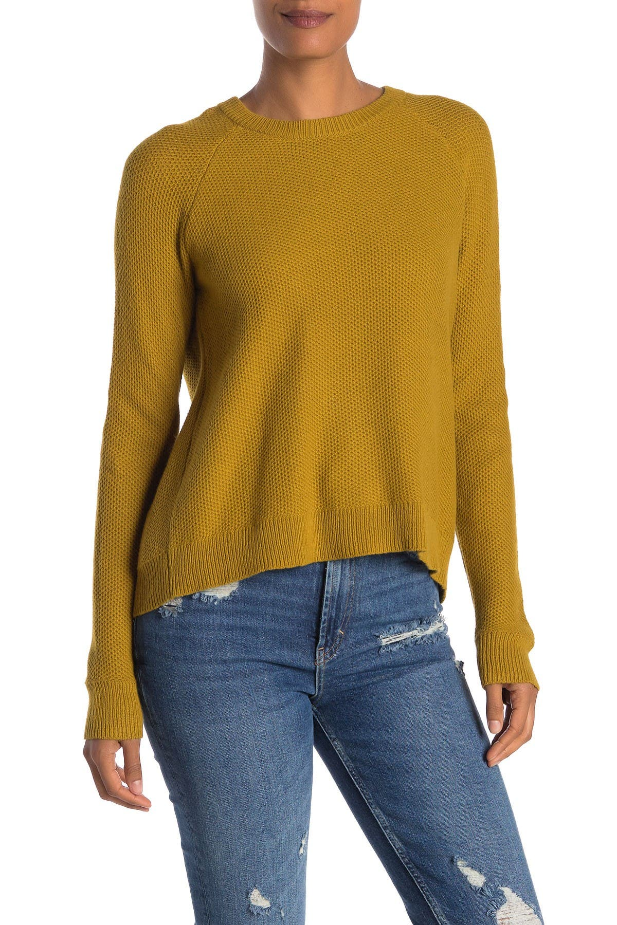 Image of Madewell Province Cross Back Knit Pullover
