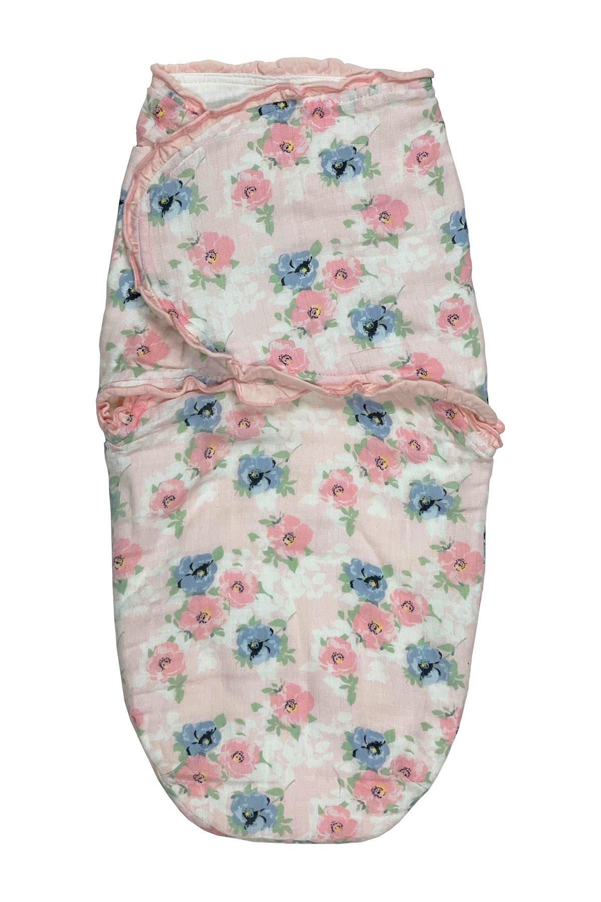 Image of Modern Baby Newborn Floral Print Muslin Swaddle Blanket Sleeping Sack
