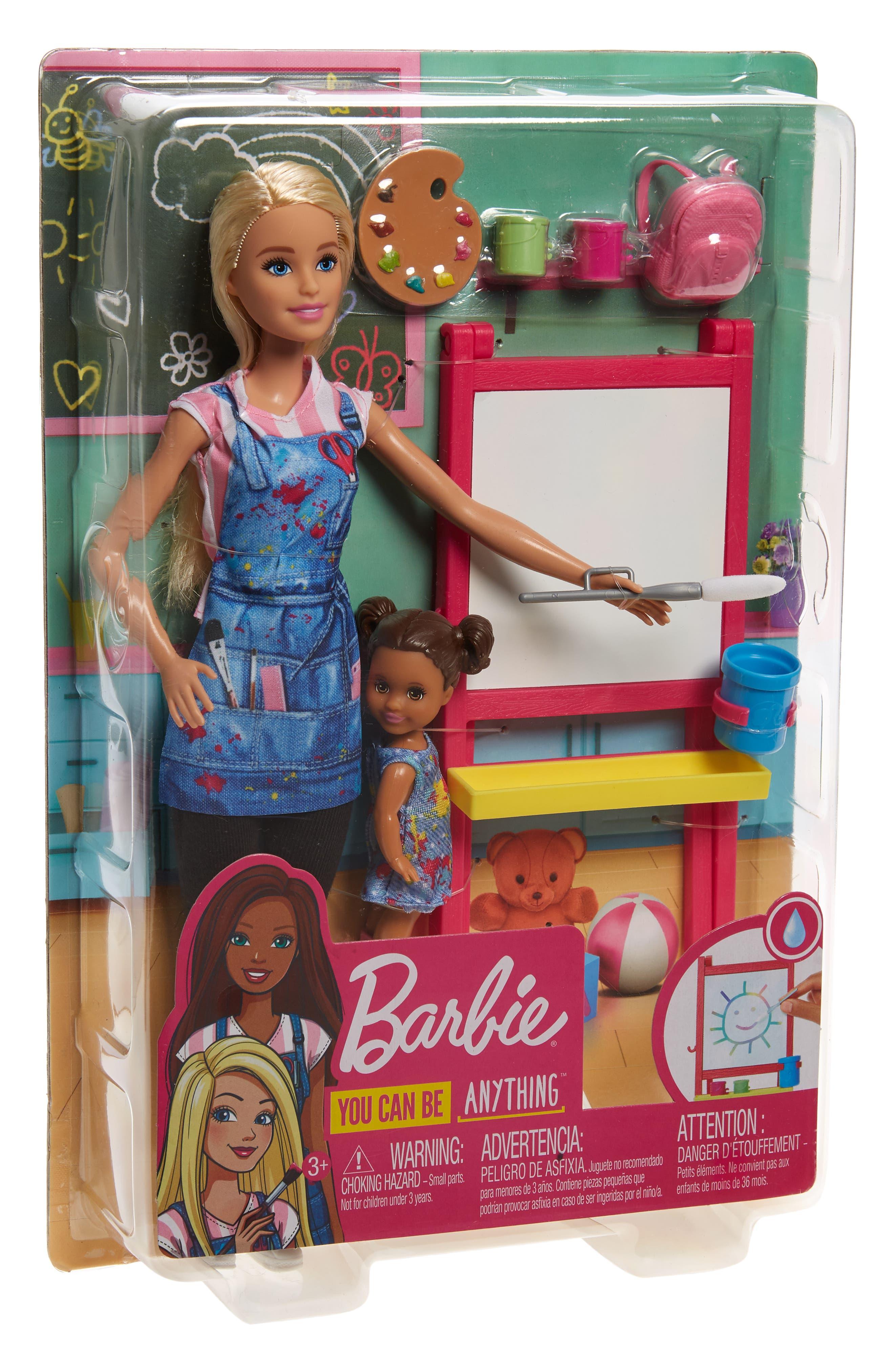 Image of Mattel Barbie(R) Art Teacher Doll