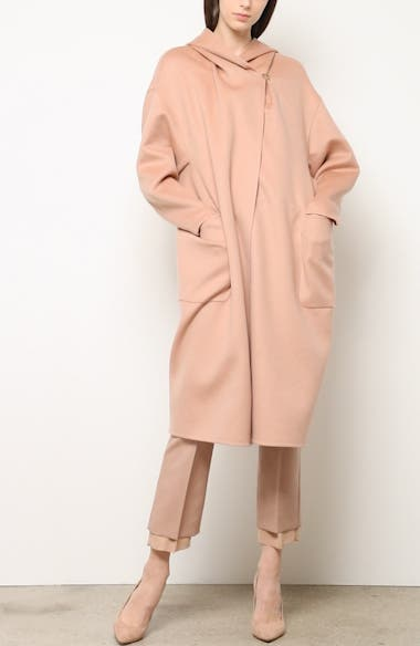 Pucci Hooded Double Face Camel Hair Coat, video thumbnail