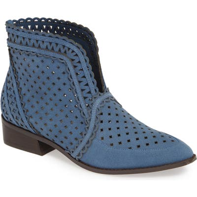 Cecelia New York Tate Bootie- Blue