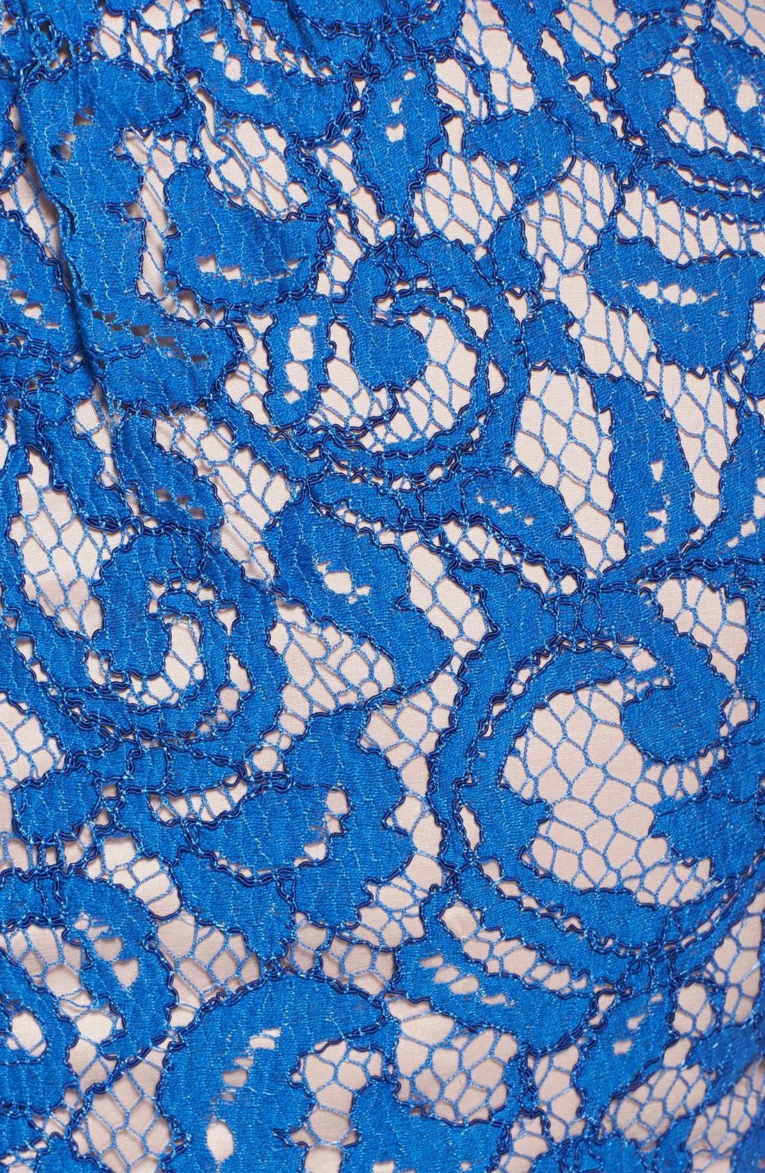 ,                             Scalloped Lace Dress,                             Alternate thumbnail 5, color,                             400