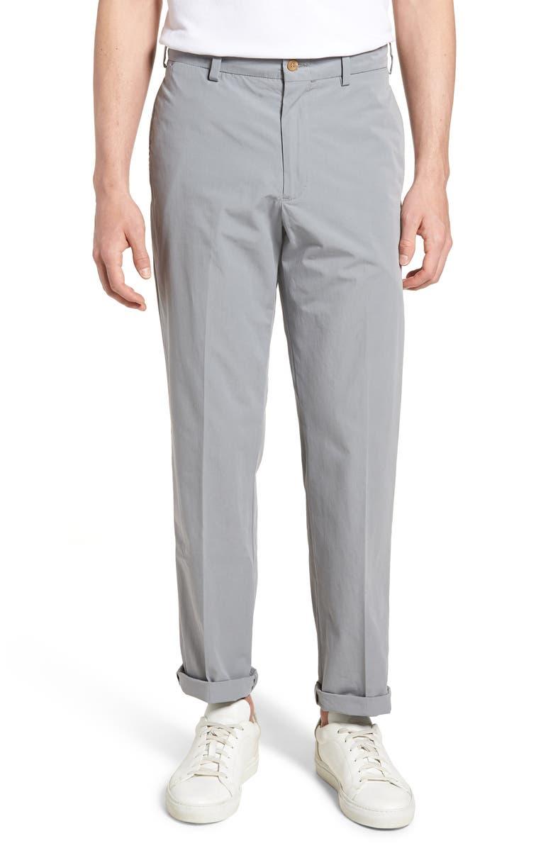 BILLS KHAKIS M2 Classic Fit Flat Front Tropical Cotton Poplin Pants, Main, color, 050