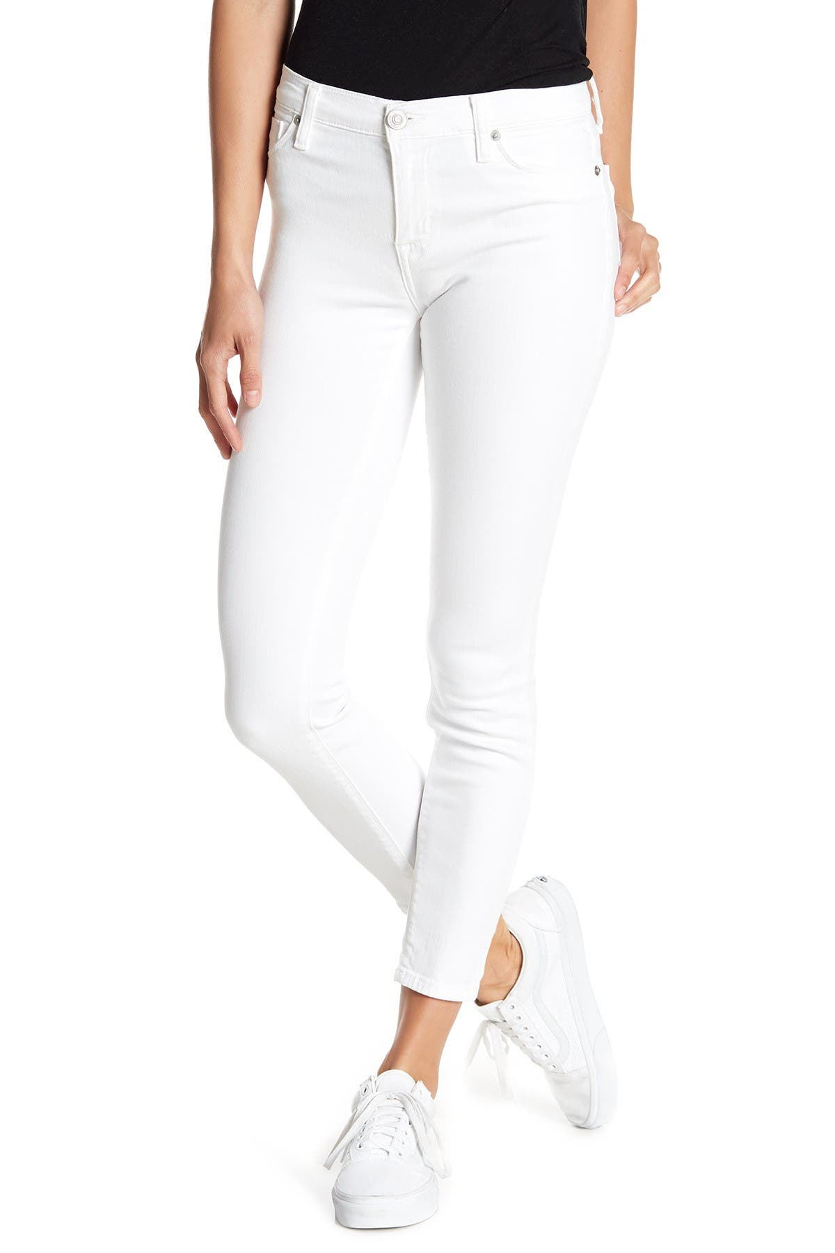 Image of HUDSON Jeans Natalie Mid Rise Ankle Skinny Jeans