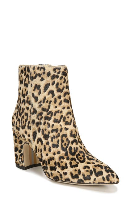 Image of Sam Edelman Hilty Genuine Calf Hair Bootie