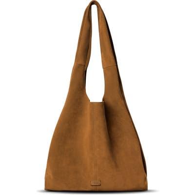 Shinola Market Leather Hobo Bag - Brown