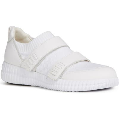 Geox Novae Sneaker, White