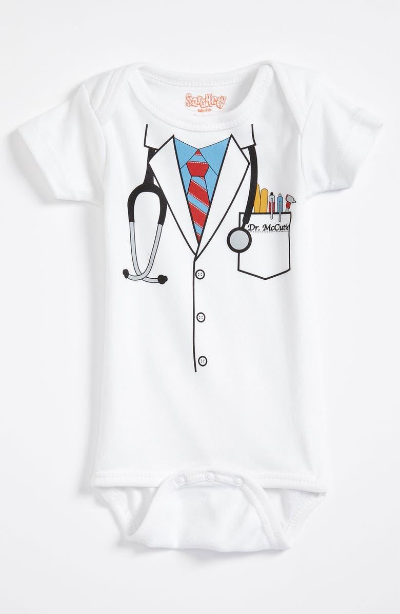SARA KETY BABY & KIDS Graphic Bodysuit, Main, color, 100