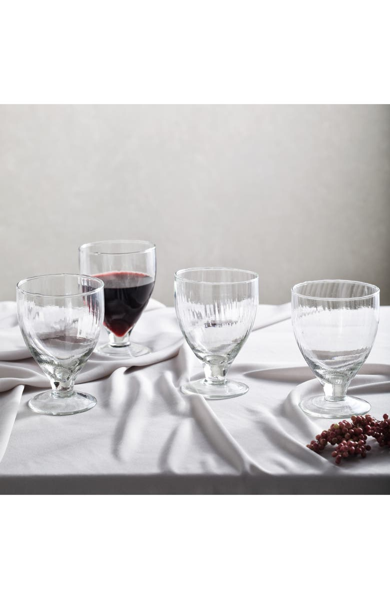 THE WHITE COMPANY Milford Set of 4 Wine Glasses, Main, color, CLEAR