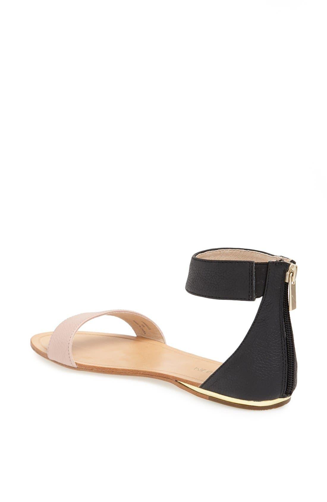 ,                             'Cambelle' Ankle Strap Sandal,                             Alternate thumbnail 2, color,                             001