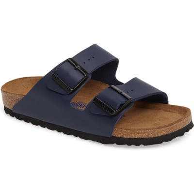 Birkenstock Arizona Soft Footbed Sandal, Blue