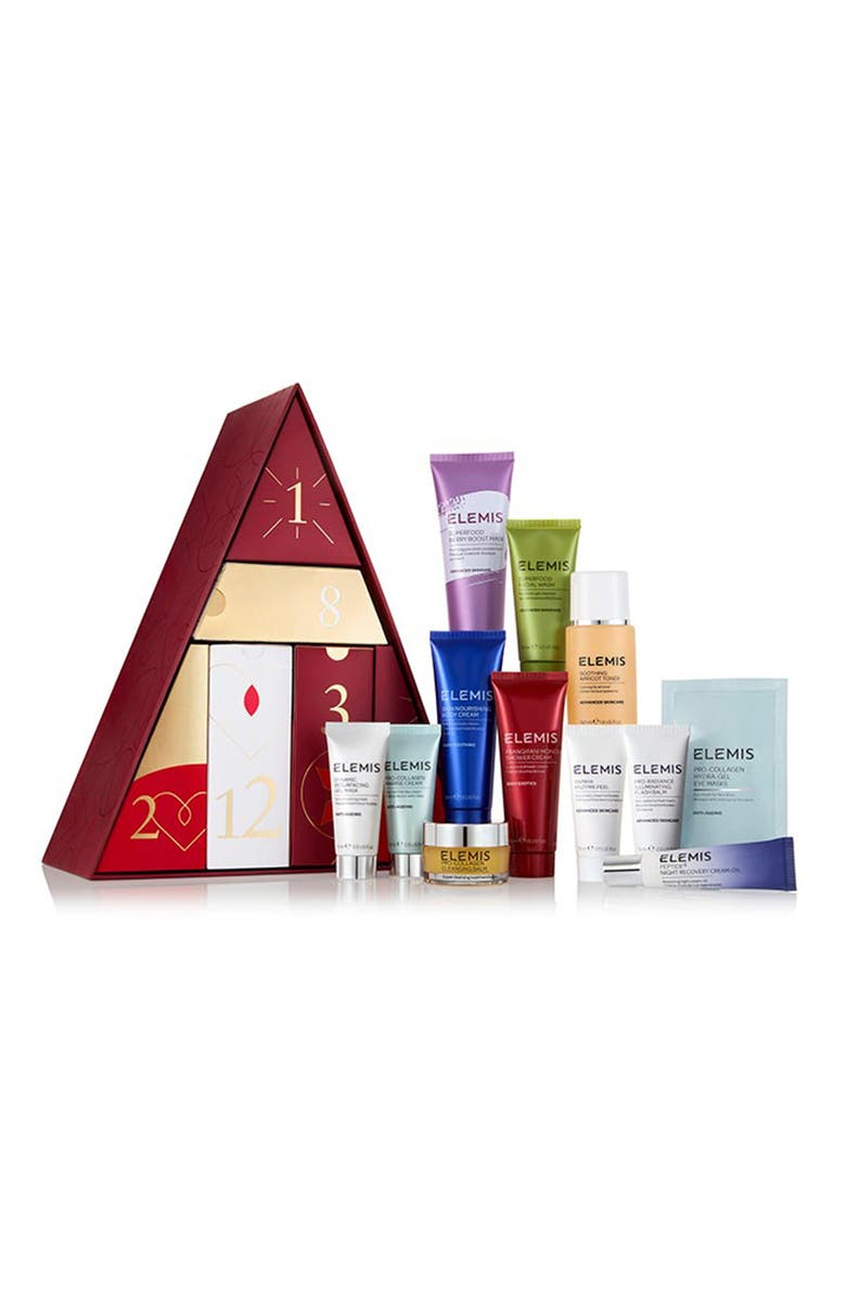 ELEMIS 12 Days of Beauty Travel Size Set, Main, color, NO COLOR