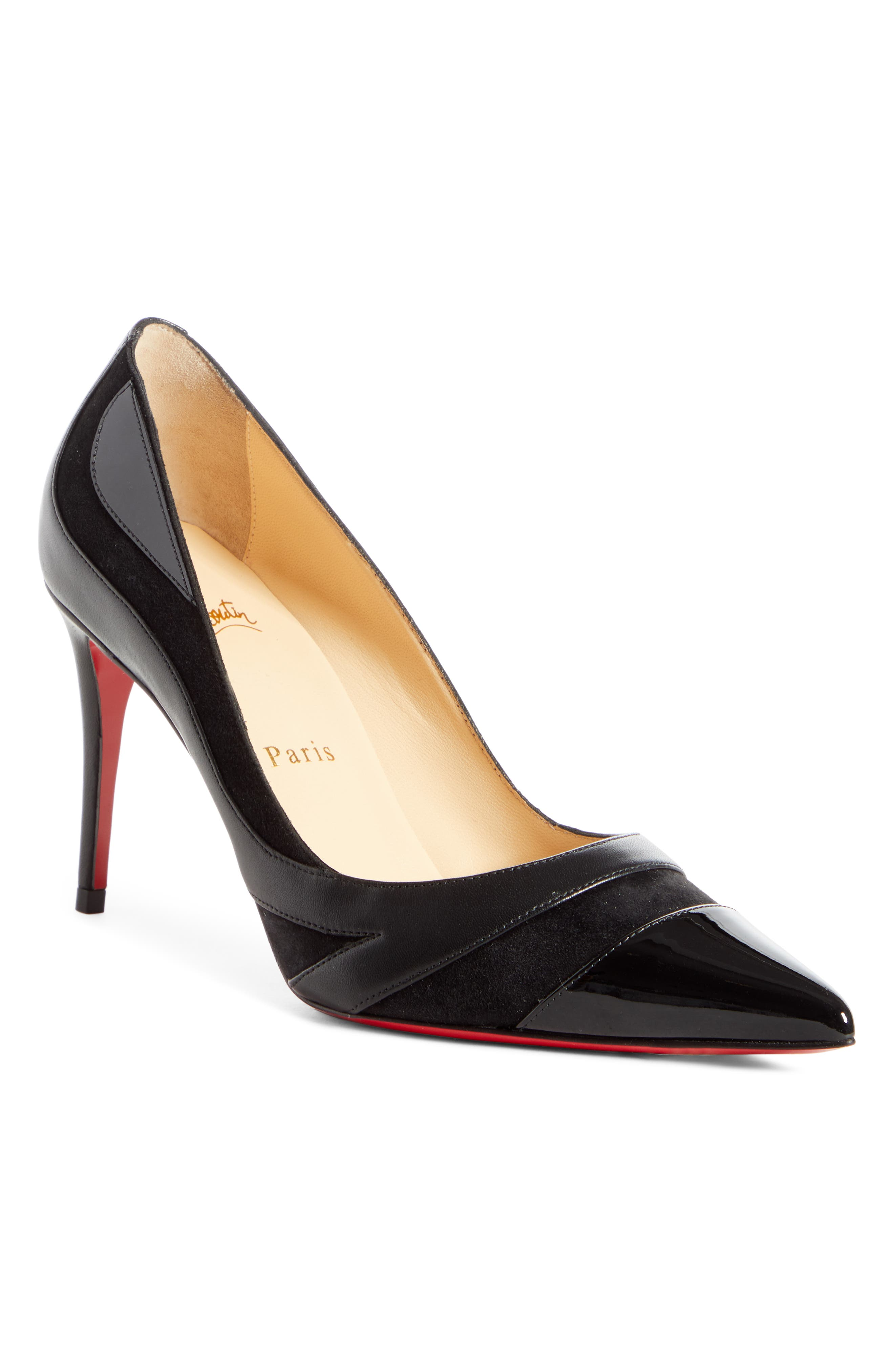 Christian Louboutin Youlahop Pointy Toe Pump, Black