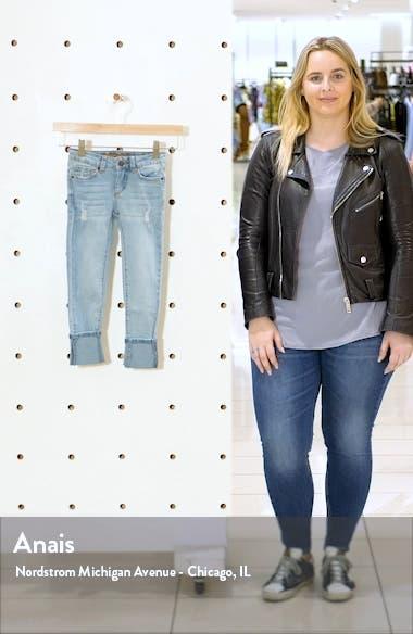 Kids' The Olivia Distressed Skinny Jeans, sales video thumbnail