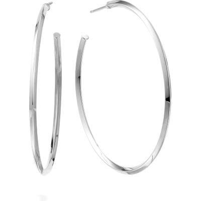 Lana Jewelry Pointed Royale Hoop Earrings